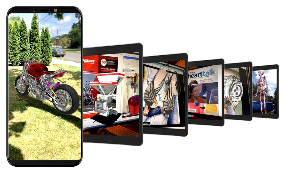 Reality Browser supports an endless array of Augmented Reality experiences